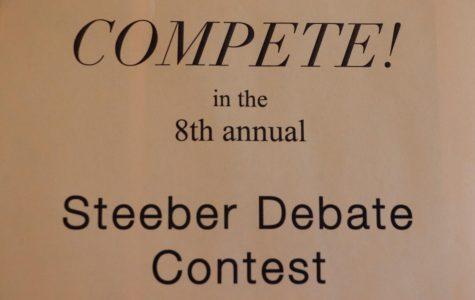 Steeber Debate Contest: Finals Recap