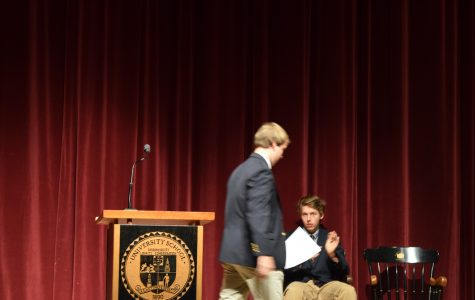 Assembly:  Will Swain's Senior Speech