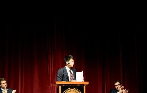 Assembly:  Michael Tan's Senior Speech