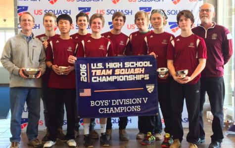 Squash Season Culminates in National Championship