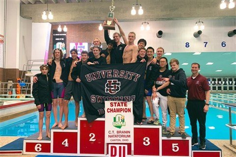 Swimming State Champions: US Brings Home Another Trophy for the 2018-2019 Season